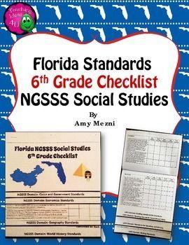 fl ngsss standards checklist