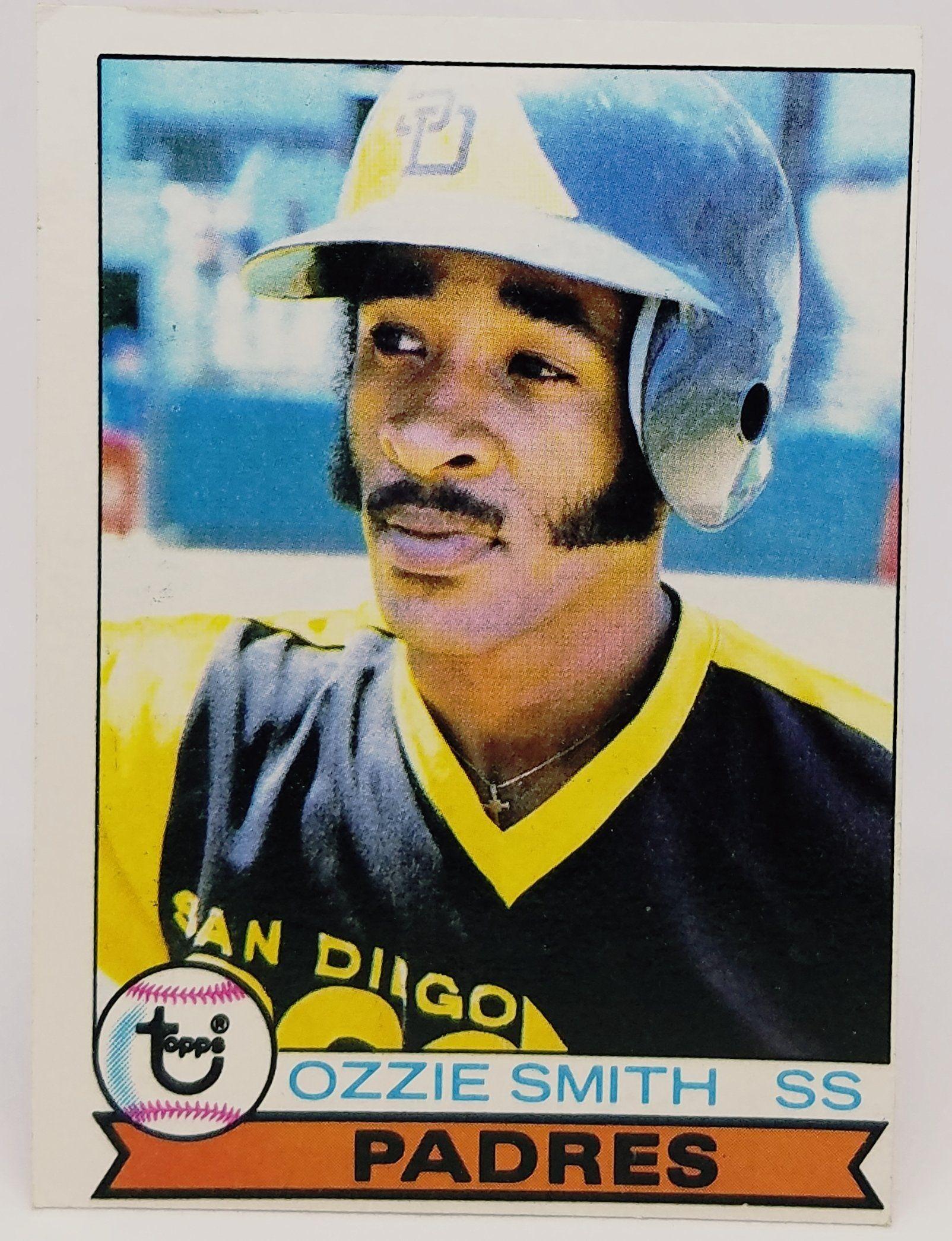 1979 topps 116 ozzie smith rookie card set break hof