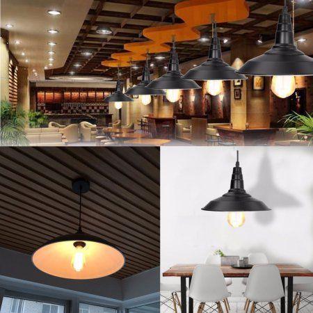 E27 Industrial Metal Edison Vintage Ceiling Lamp Chandelier Lighting