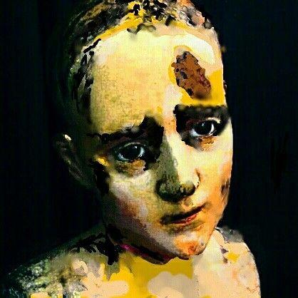 Study: Boy with birthmark / by Suzanne Yazzie