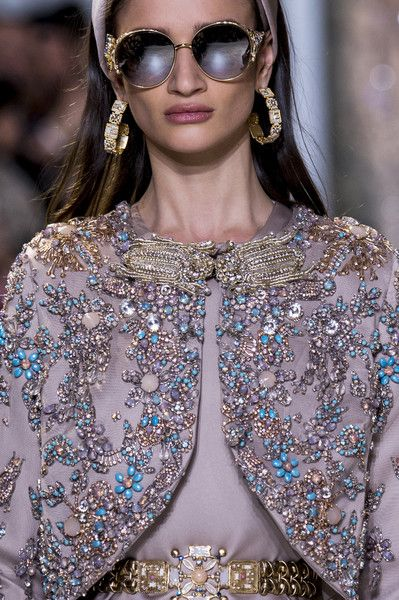 Elie Saab at Couture Spring 2017 - Details Runway Photos