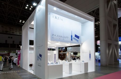 Exhibition Stall Reference : ビューティーワールドブースデザイン works exhibition booth design