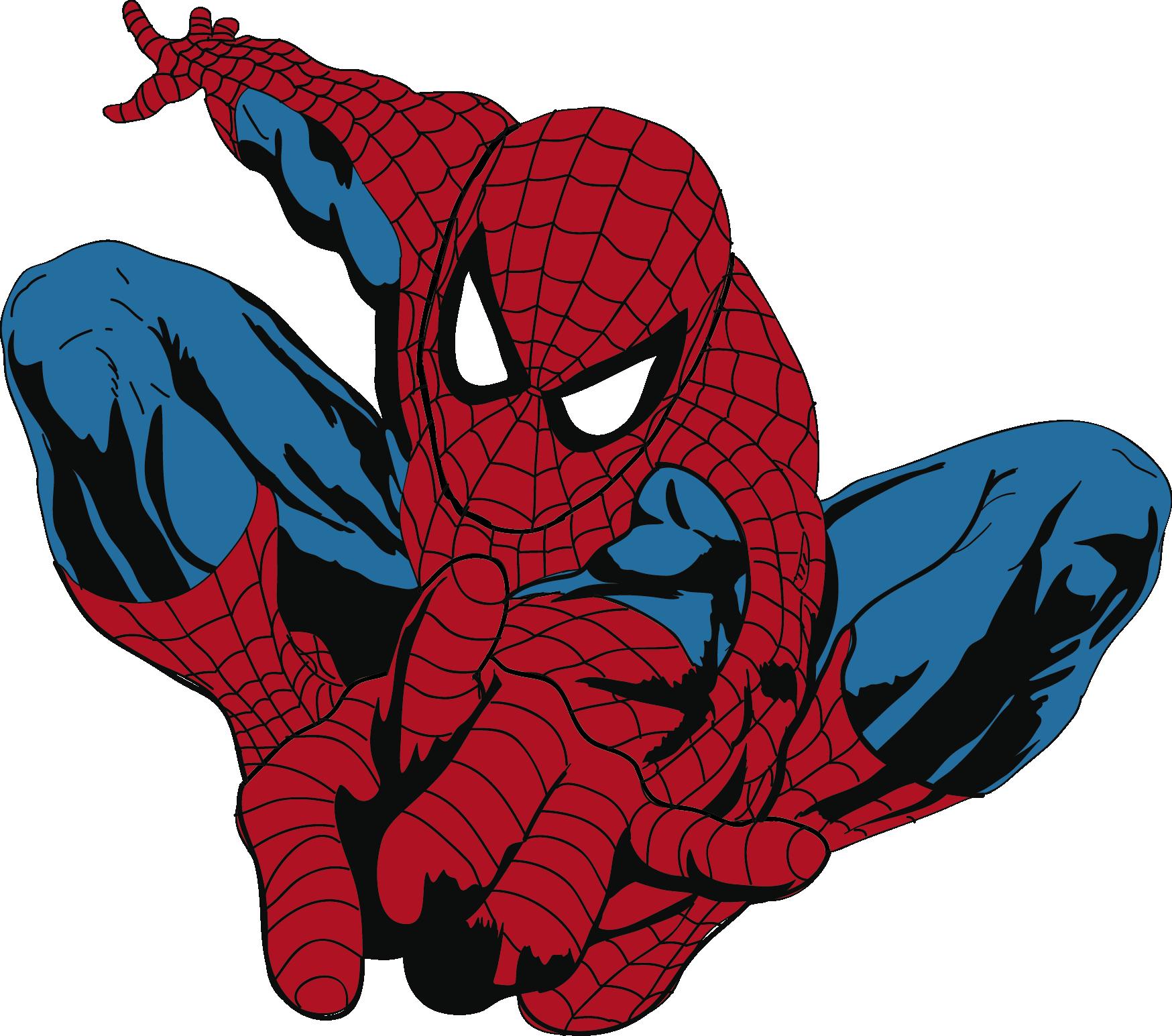 spiderman vector Hombre araña, Arañas, Vector