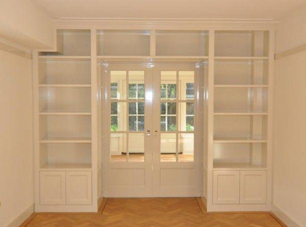 Kleine Ensuite Inloopkast : Ingebouwde kast ensuite van woonkamer naar uitbouw