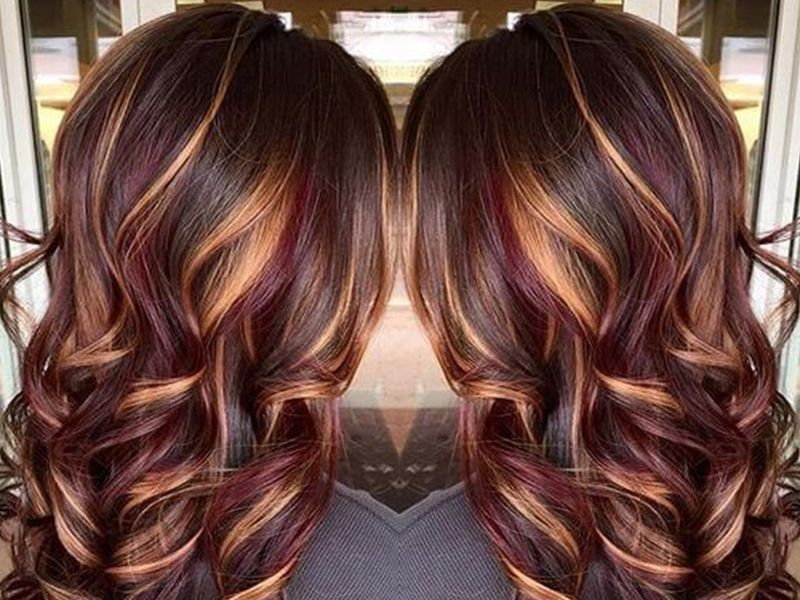 Red Highlights In Brown Hair Hairstyles Exclusive Guides From Light Brown Hair With Red Brown Blonde Hair Light Hair Color Brown Hair With Blonde Highlights