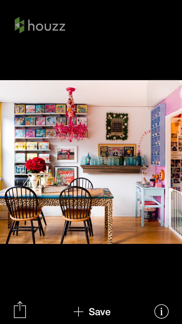 Animal print | Eclectic dining room, Eclectic dining room ...