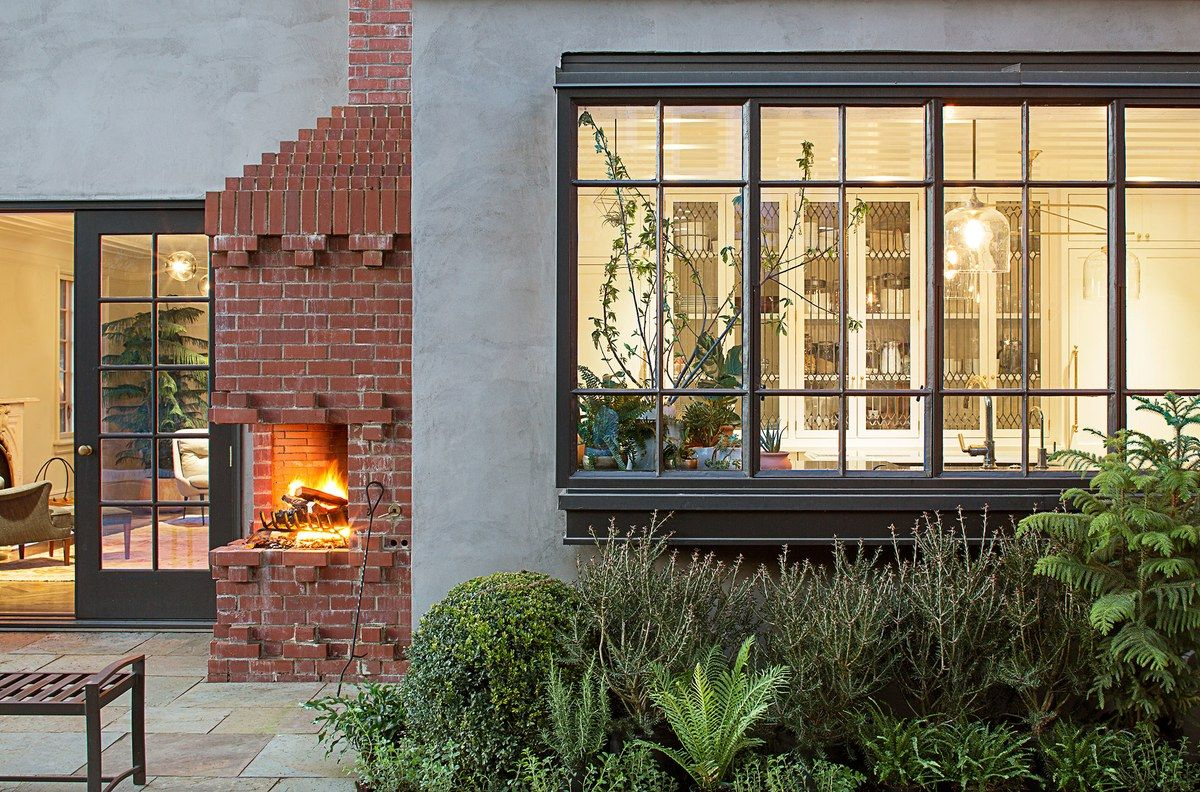 Outdoor Fireplace Portland Oregon The Aquaria