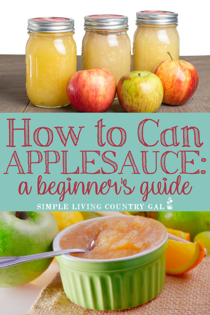 Step by step guide on how to easily can yummy applesauce.