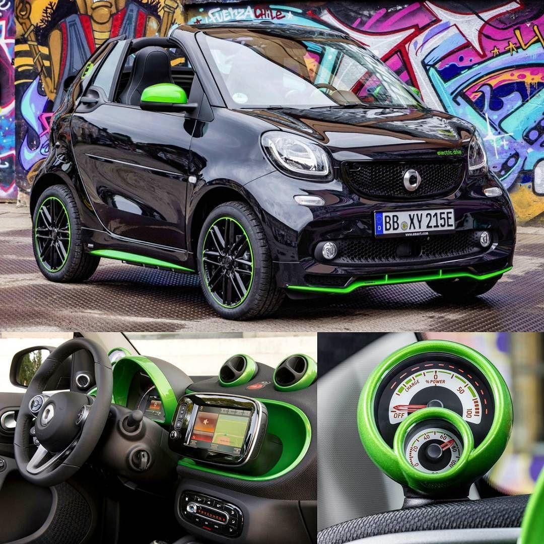 Smart fortwo Cabrio electric drive 2018 Essa é a quarta