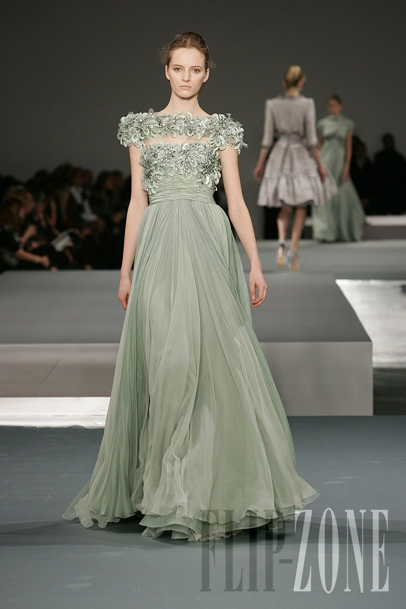 Elie saab couture springsummer long dresses pinterest