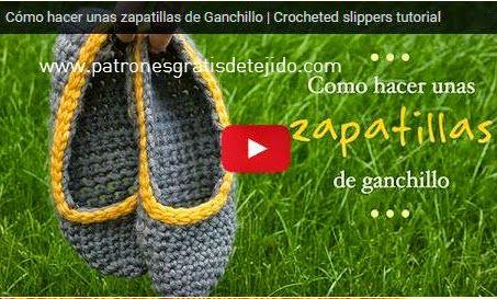 Crochet y Dos agujas - Patrones de tejido | Calzado | Pinterest ...