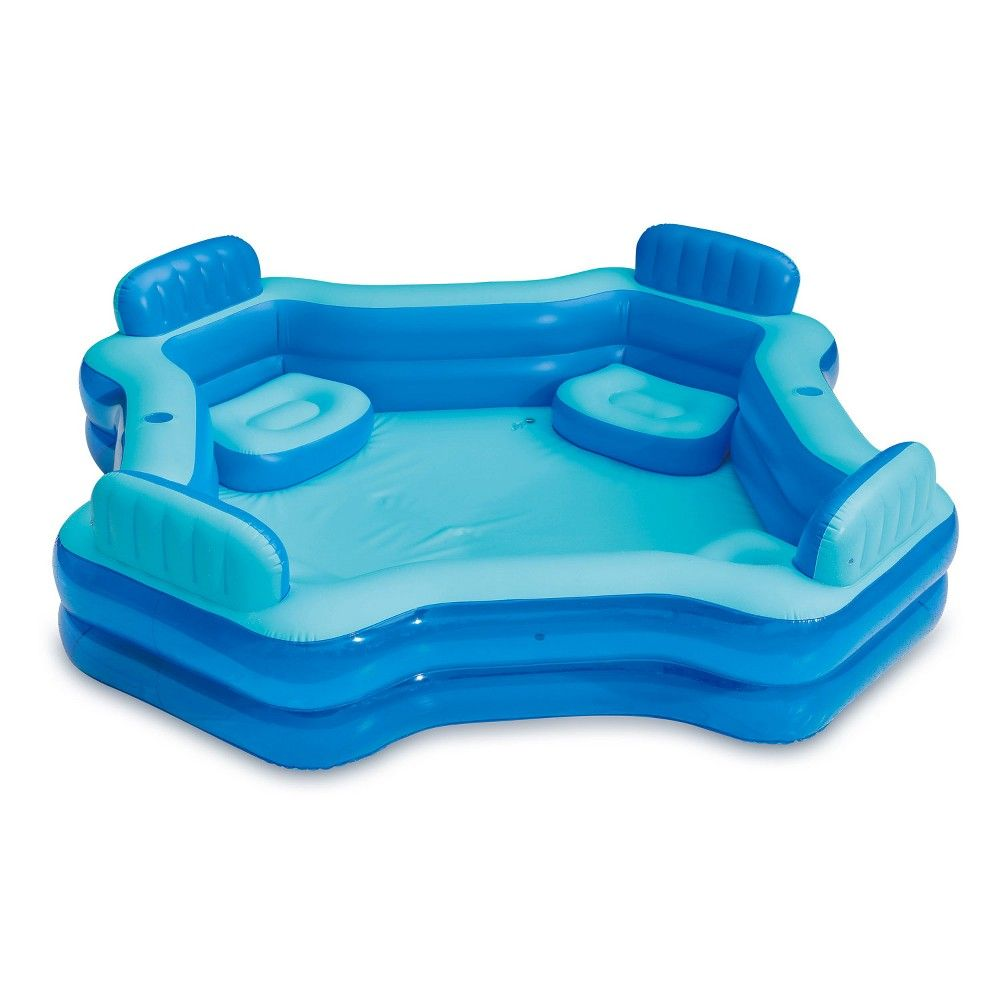 Summer Waves 8 75ft X 26in Inflatable Home 4 Person Deluxe Comfort Swimming Pool Swimming Pools Summer Waves