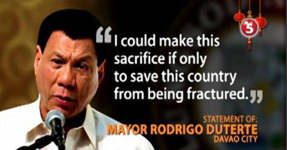 Rodrigo duterte quotes