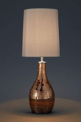 Buy mosaic mink table lamp from the next uk online shop table buy mosaic mink table lamp from the next uk online shop aloadofball Choice Image