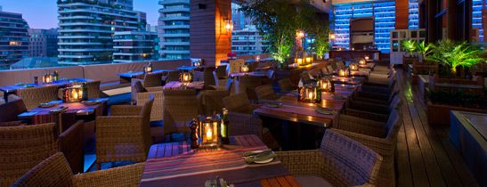 Santiago Chile Terraza A Terrace Restaurant At The W Hotel An Awesome