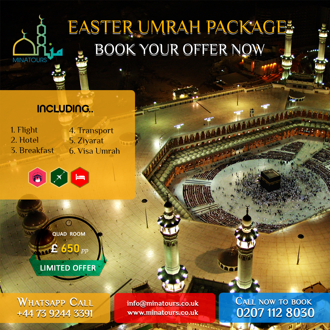 Easter Umrah Package - Book Your Offer Now INCLUDES: # ...