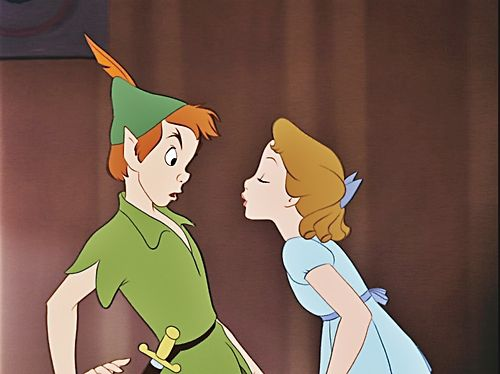 What S A Kiss Peter Pan Peter Pan Disney Walt Disney