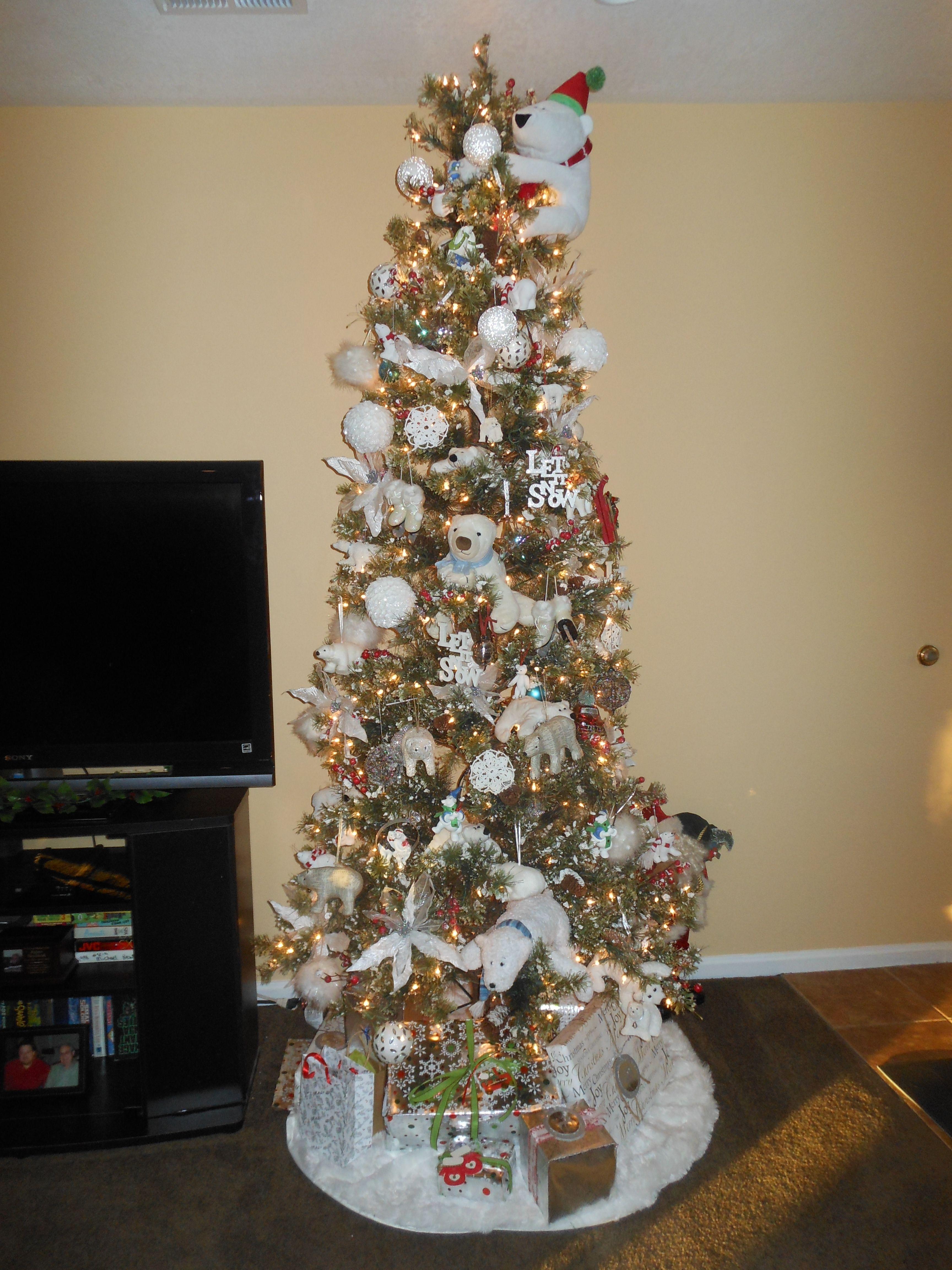Christmas decorations pinterest - Polar Bear Christmas Decorations On Pinterest Polar Bears