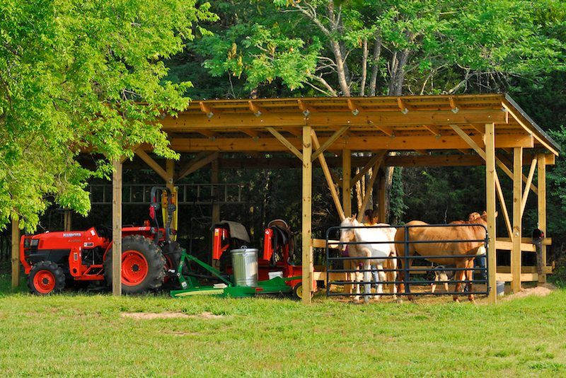 Tractor Shed Google Search Deck Building Plans Barns