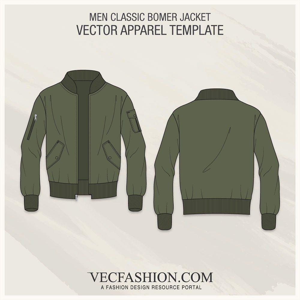 Classic Bomber Jacket Fashion Flat Bomber Jacket Fashion Classic Bomber Jacket Jacket Style [ 1000 x 1000 Pixel ]