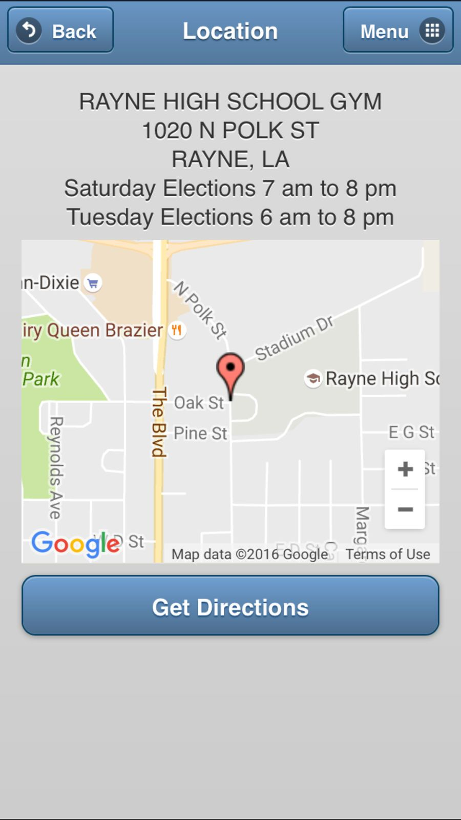GeauxVote Mobile ReferenceStateappsios App, Ios apps