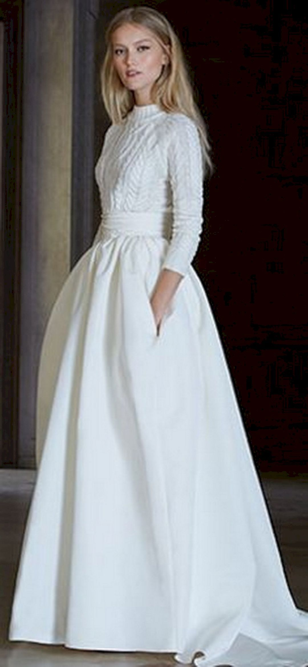 Conservative wedding dress   Best And Beautiful Wedding Dress For Winter  Wedding dress