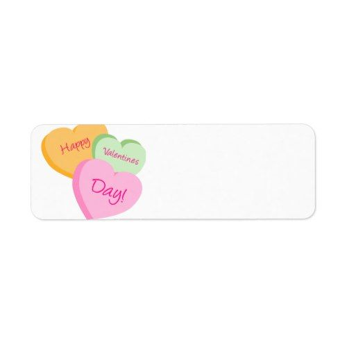 Conversation Hearts ValentineS Day Label Tags  Valentine Day