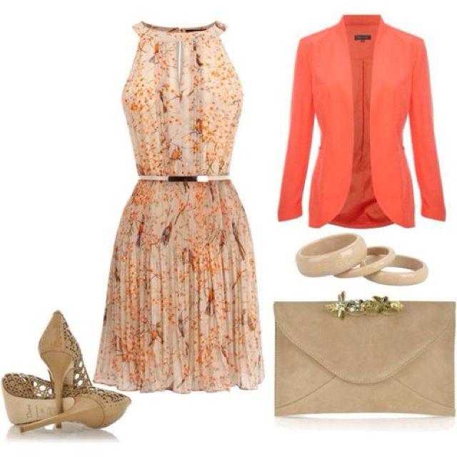 Lindo vestido primaveral