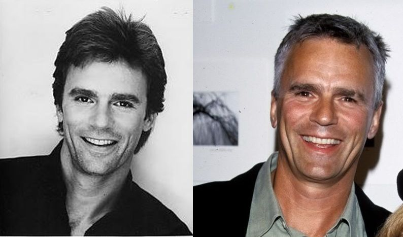 Richard Dean Anderson from MacGyver to Stargate... he just got better looking with time!!! And that's saying something because he started out Gorgeous!!!