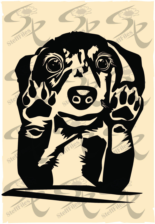 Vector DOG PAW,Animals,Art,Download files, Digital
