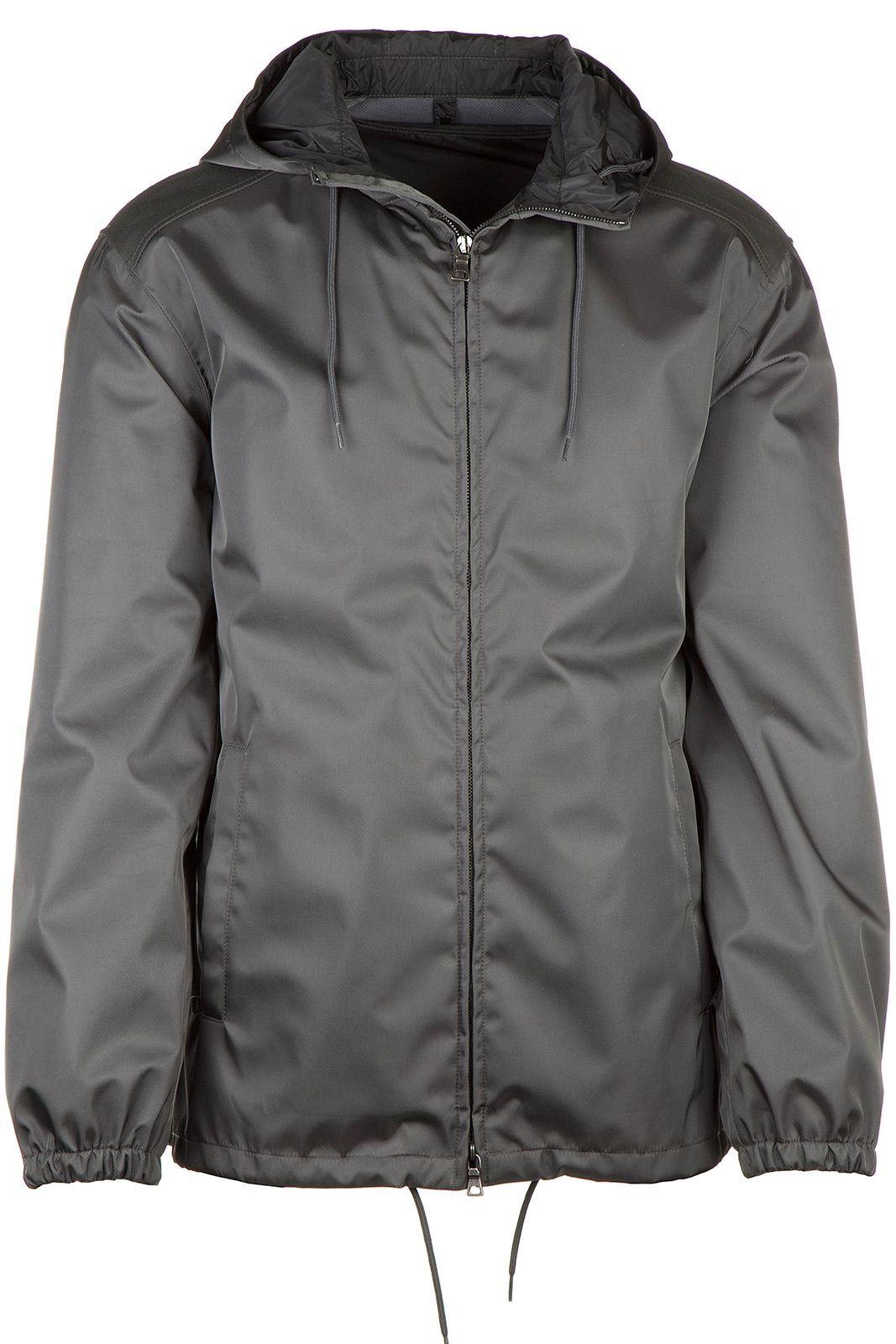 Prada Men S Outerwear Jacket Blouson Hood Gabardine Prada Cloth Mens Outerwear Jacket Outerwear Jackets Prada Men [ 1600 x 1067 Pixel ]