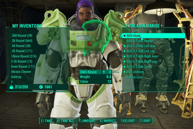 Buzz Lightyear Paladin Danse at Fallout 4 Nexus - Mods and community