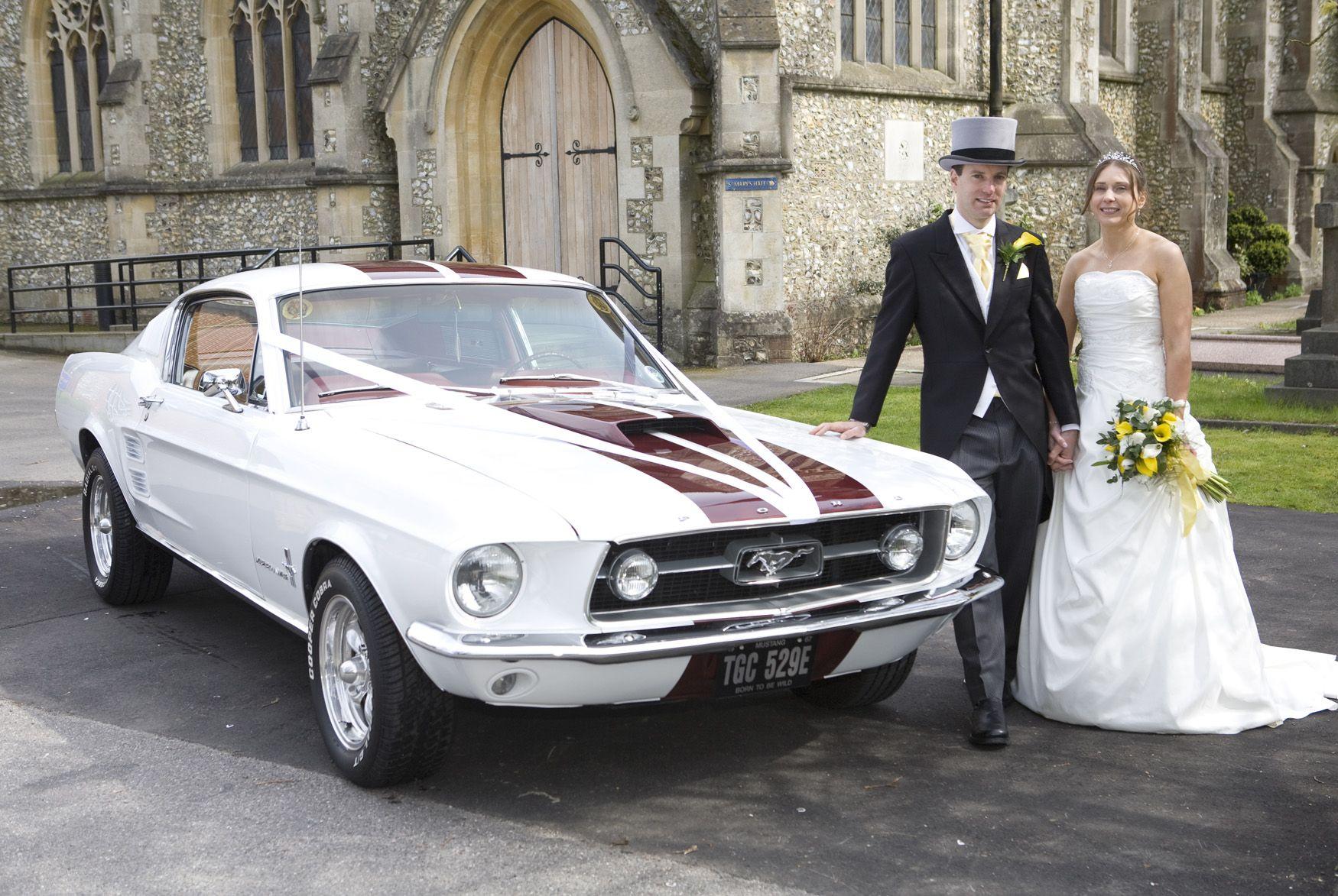 ford-mustang-wedding-car.jpg 1,750×1,173 pixels | Wedding Flowers ...