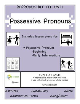 Possessive Pronouns - mine, yours, ours! Grammar Lesson Plans ...