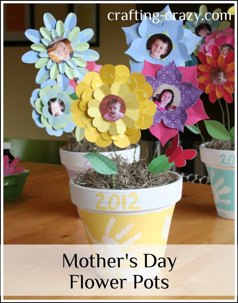 mother 39 s day flower pot tutorial crafting crazy natalie chiles my blog pinterest. Black Bedroom Furniture Sets. Home Design Ideas