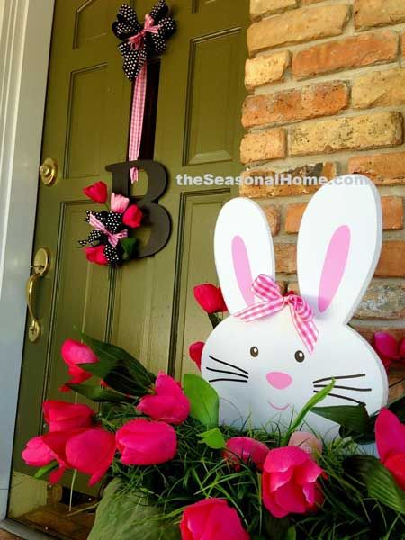 Spring Decoration Ideas | Easter, Spring and Porch