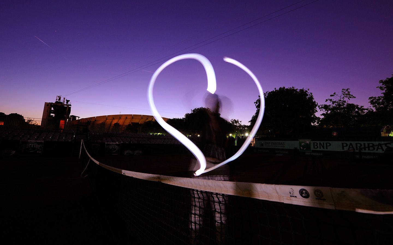 Heart around the Court