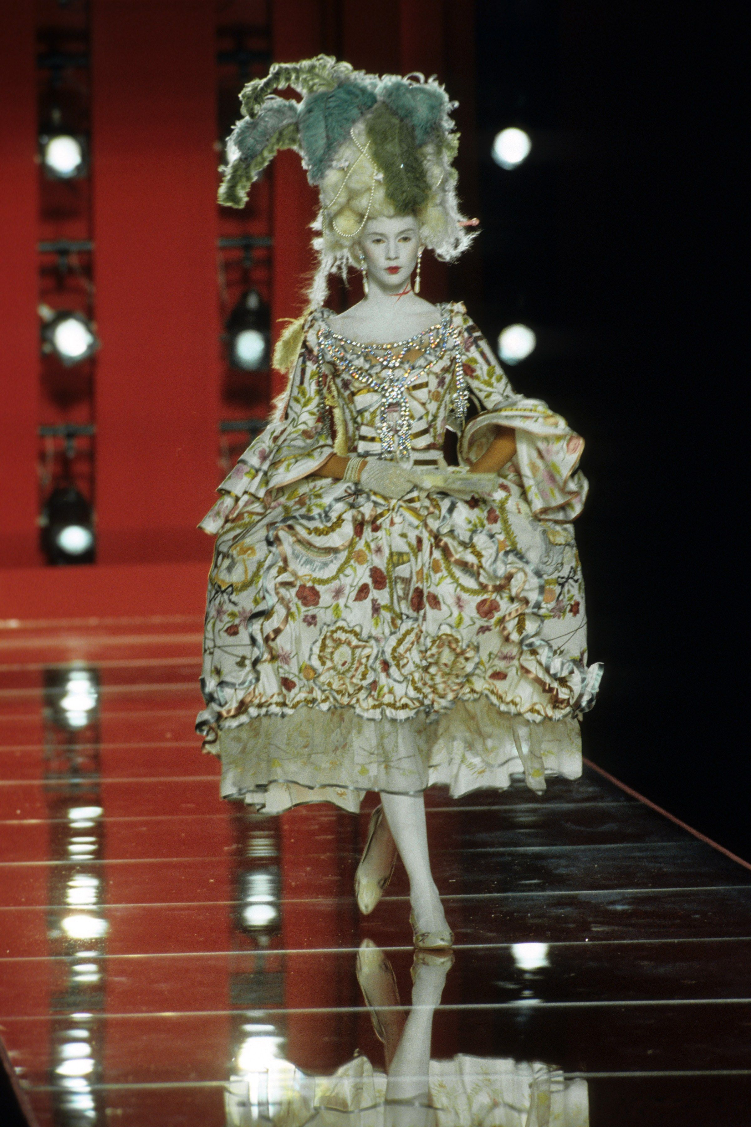 f3bee603362 Christian Dior Fall 2000 Couture Fashion Show - designer John Galliano.