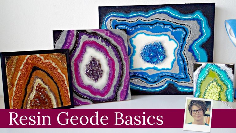 Basics class is launched resin art resin resin crafts