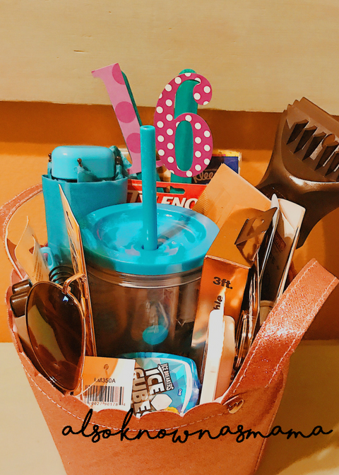 Sweet 16 Gift Basket