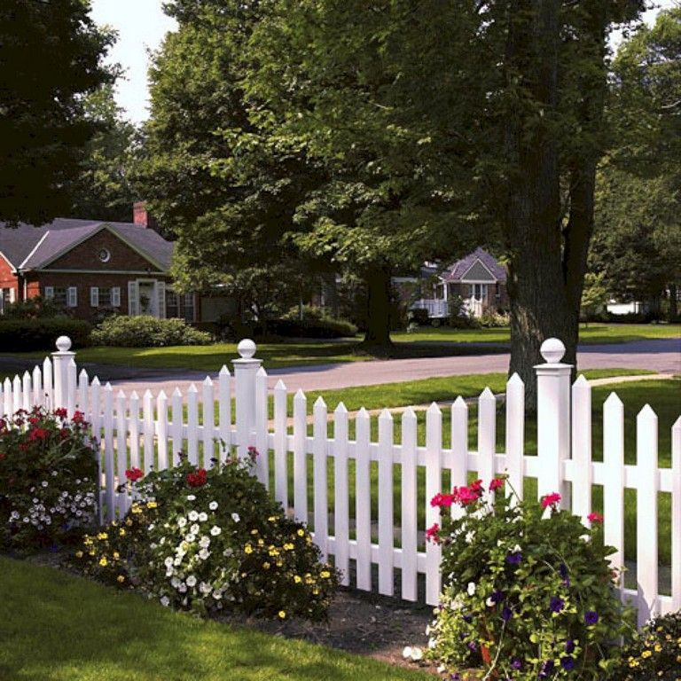 9 Handsome Simple Ideas Grey Brick Fence Timber Fence Planter Boxes Wire Pool Fence Fence And Gates Awesome T Farmhouse Landscaping Backyard Fences Front Yard