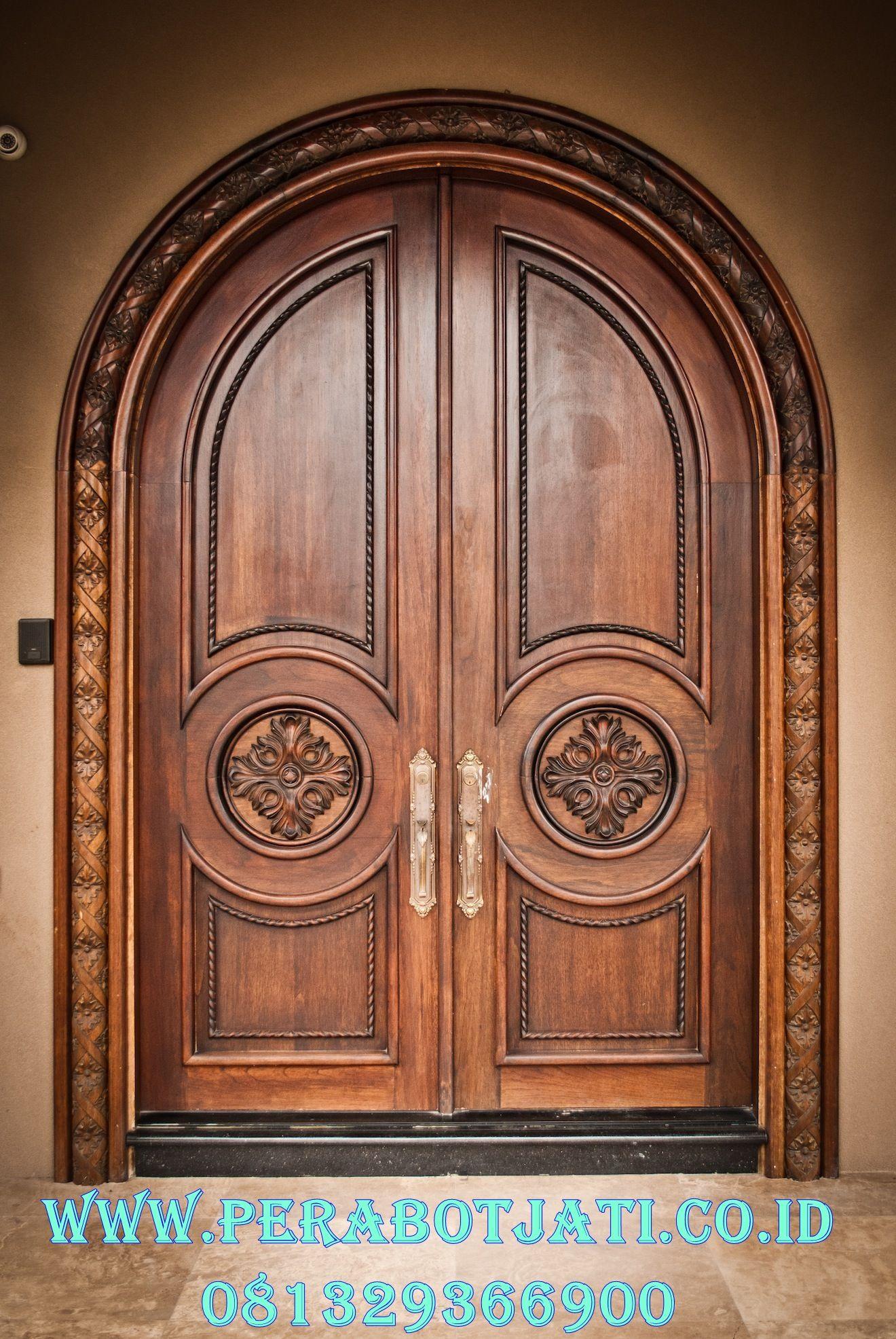 Kusen Pintu Utama Lengkung Model Klasik Eropa Desain Pintu Masuk Desain Pintu Modern The Doors