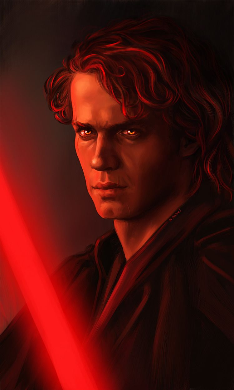 Star Wars Fanart Any When He S Already Joined Dark Side But Before