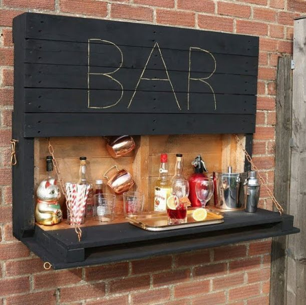 Recycled Wood Pallet Shelf Designs (com Imagens