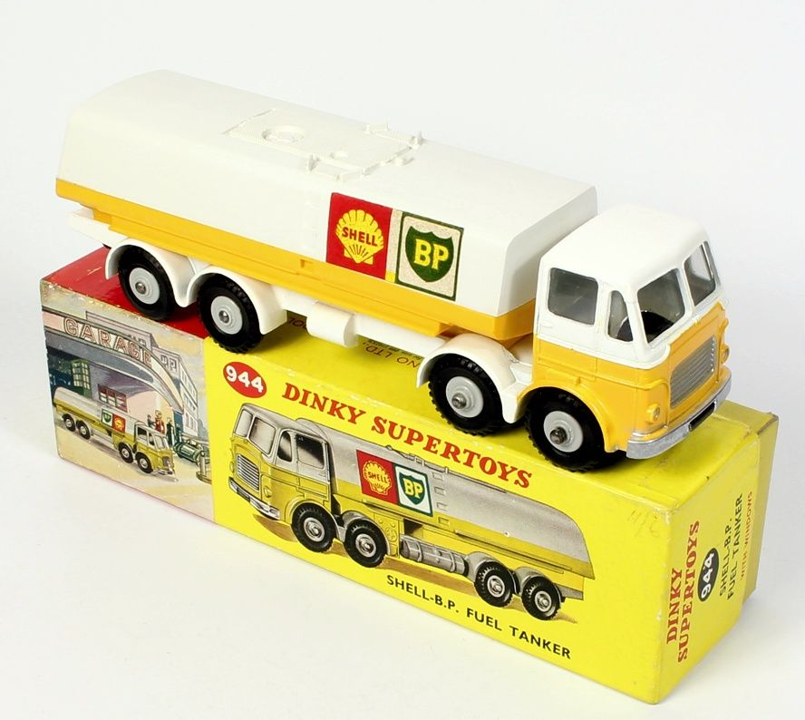 944 Dinky Supertoy Leyland Octopus Shell Bp Tanker Current 2016