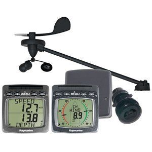 Tacktick Wireless Wind, Speed & Depth System W/Triducer, 2015 Amazon Top Rated Wind Speed Gauges #GPSorNavigationSystem