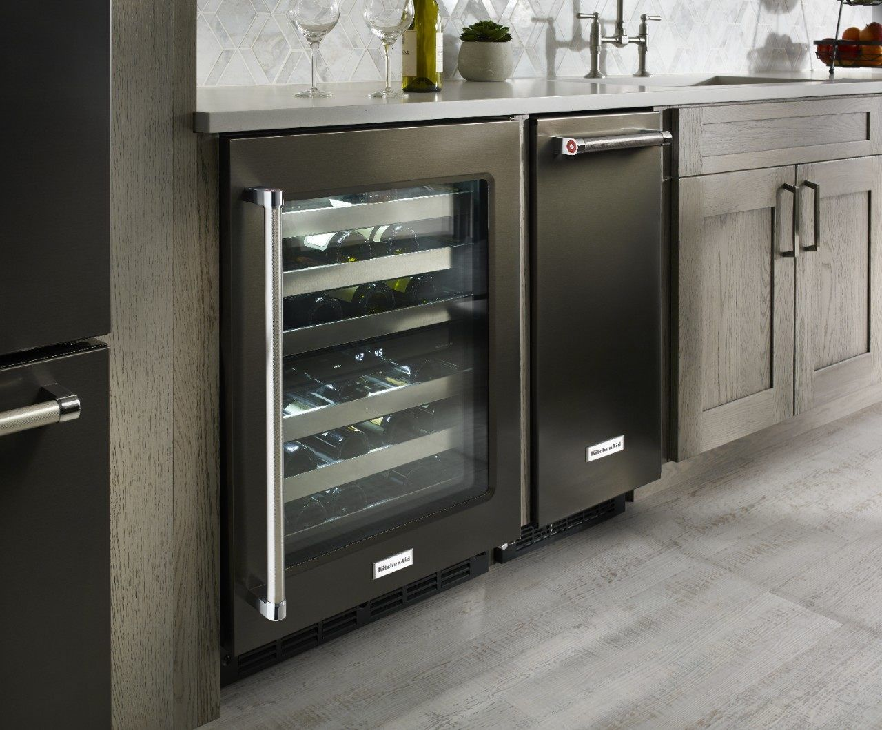 Undercounter Fridge Options From Kitchenaid Kitchen Aid Kitchen Aid Appliances Wine Fridge