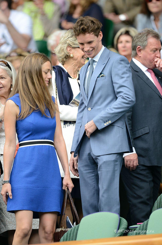 Eddie Redmayne - Wimbledon | Eddie redmayne, Eddie, Celebs