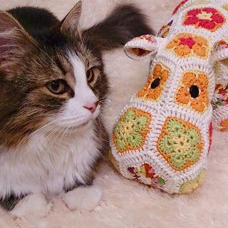 Happypotamus, Heidi Bears crochet pattern