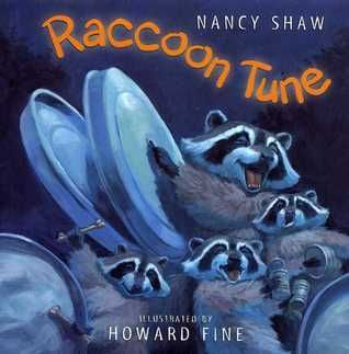 Raccoon Tune by Nancy Shaw is a book about a family of raccoons who prowl around at night looking for food to eat and along the way, they make a lot of noise. There are many words in this book that use different abstract vowels.